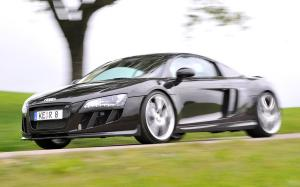 Audi R8 Black by ABT 2008 года